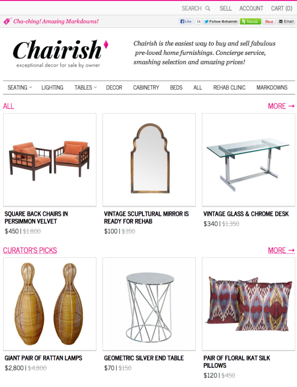 Chairish | Buy & Sell Exceptional Pre-Owned Home Furnishings & Decor