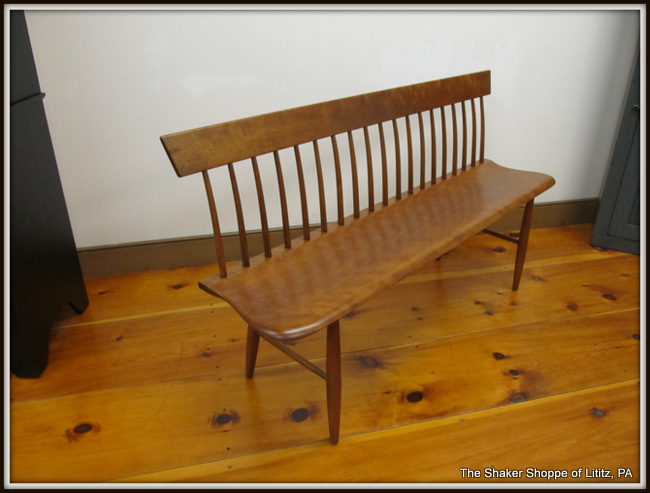 modern shaker furniture. Settee_Bench_004 Modern Shaker Furniture