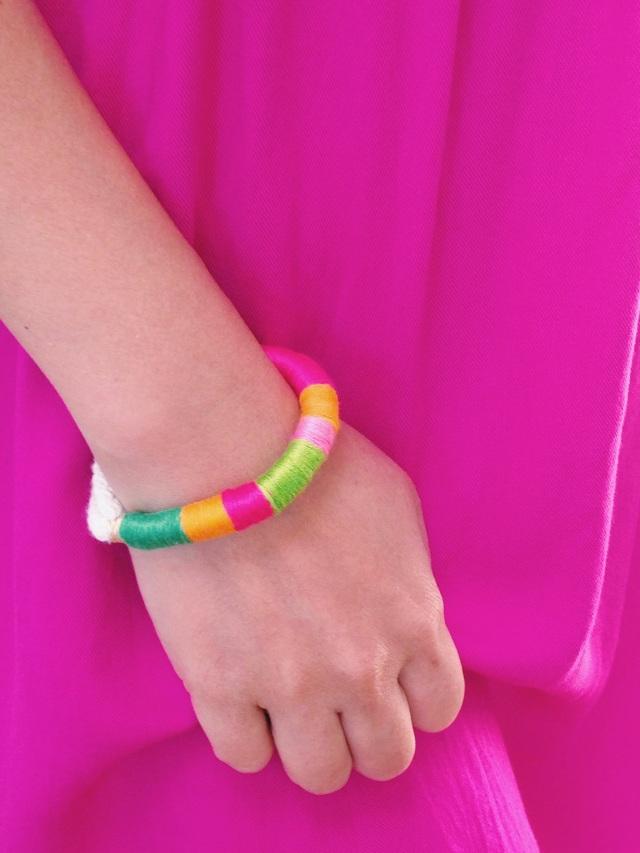 Bracelet on hand